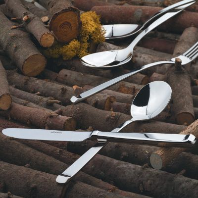 Serving Set - 10 Pieces - Altura in 18/10 Stainless Steel
