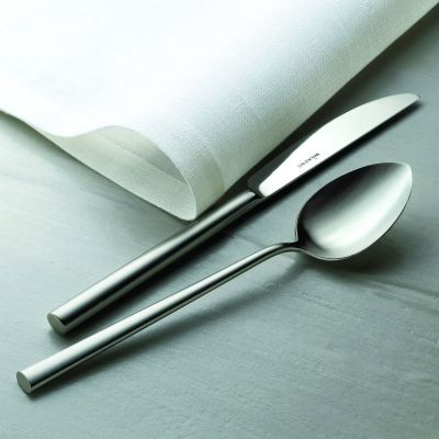 Cutlery Set - 24 Pieces - Palladio in 18/10 Stainless Steel Frosted Surface