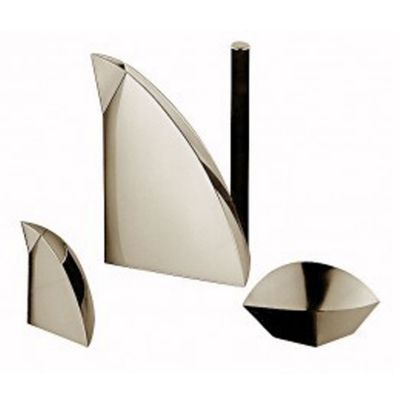Coffee Serving Set - 3 Pieces - Sculptura in 925 Sterling Silver