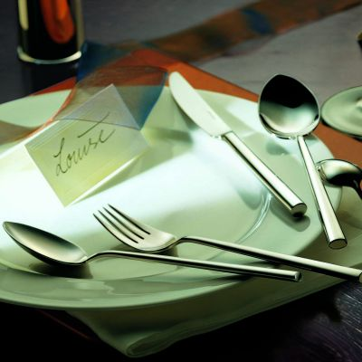 Cutlery Set - 30 Pieces - Palladio in 18/10 Stainless Steel Polished Surface