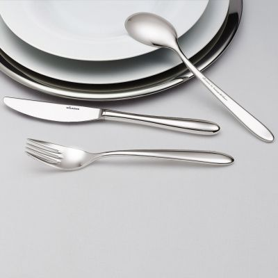 Cutlery Set - 60 Pieces - Rotondo in 18/10 Stainless Steel
