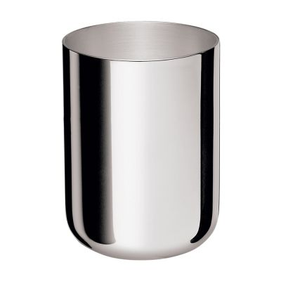Beer ccup Silhouette in Silver Plated