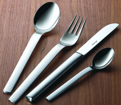 Cutlery Set - 60 Pieces - Classico in 18/10 Stainless Steel Satinated Surface