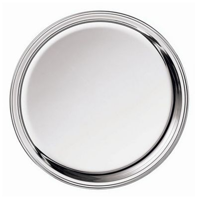 Glass Coaster Ambassador in Silver Plated