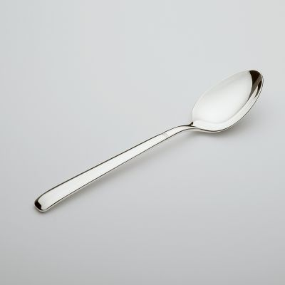 Coffee Spoon Diamant in 180g Silver Plated Polished Surface