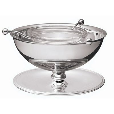 Caviar Serving Bowl Ambassador in Silver Plated