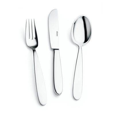 Pastry Fork Argento in 925 Sterling Silver Polished Surface