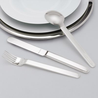 Pastry Fork Epoca in 180g Silver Plated