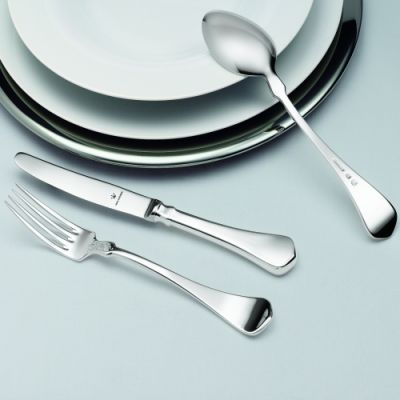 Pastry Fork Schloss Gripsholm in 90g Silver Plated Polished Surface