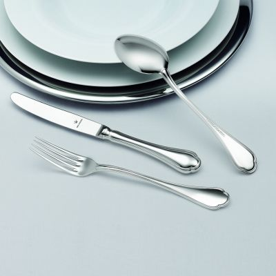 Pastry Fork Schloss Windsor in 925 Sterling Silver Polished Surface