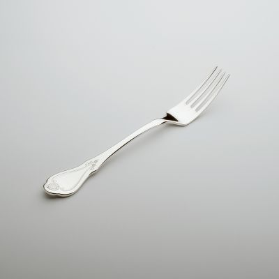 Dinner Fork Schloss Mirabell in 90g Silver Plated Polished Surface