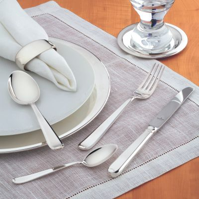 Dinner Spoon Gala in 925 Sterling Silver Polished Surface