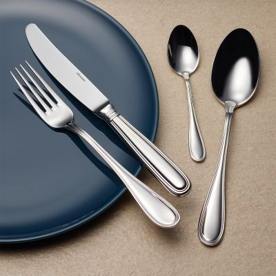Cutlery Set - 30 Pieces - Schwedisch Faden in 18/10 Stainless Steel