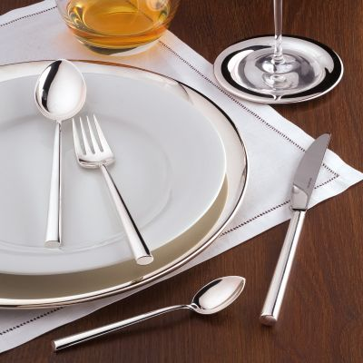 Cutlery Set - 62 Pieces - Palladio in 18/10 Stainless Steel Polished Surface