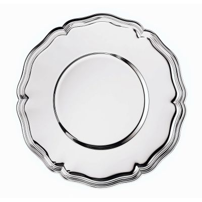 Place Plate Chippendale in 925 Sterling Silver