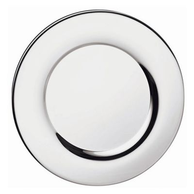 Service Plate Silhouette in Silver Plated