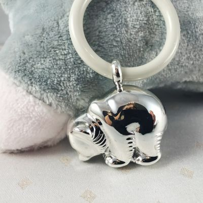 Baby Rattle - Bear - Bambino - in 925 Sterling Silver - 5 Rattles available