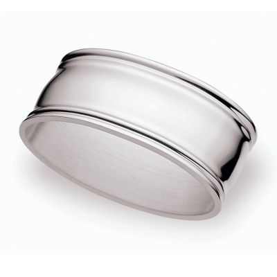 Napkin Ring Augsburger Faden in Silver Plated