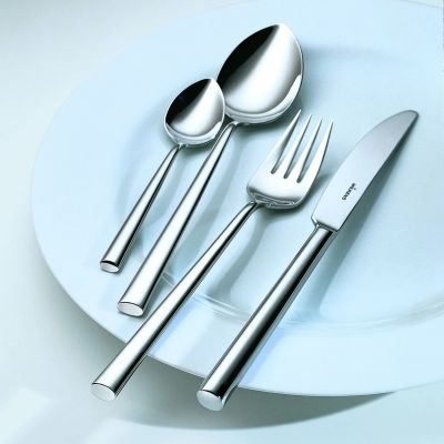 Sterling Silver Cutlery Set - 4 Pieces - Palladio in 925 Sterling Silver