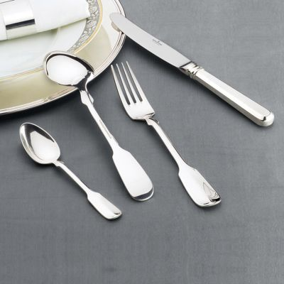 Sterling Silver Cutlery Set - 71 Pieces - Königsspaten in 925 Sterling Silver