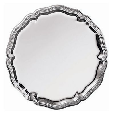 Tray Chippendale in Silver Plated