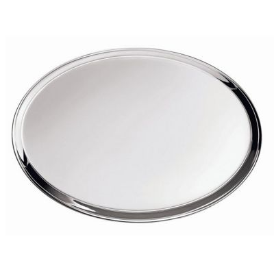 Tray Silhouette in Silver Plated
