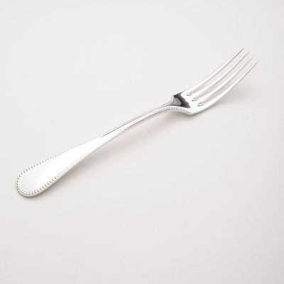 Table Fork Perlstab Louis XVI in 925 Sterling Silver