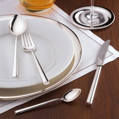Silver Plated Cutlery Set - 30 Pieces - Palladio in 180g Silver Plated