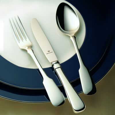 Silver Plated Cutlery Set - 4 Pieces - Spaten in 180g Silver Plated