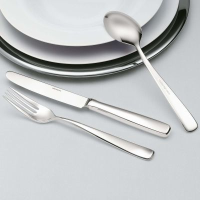 Silver Plated Salad Serving Set - 2 Pieces - Opera in 180g Silver Plated Large