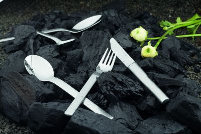 Serving Set - 10 Pieces - Classico in 18/10 Stainless Steel Satinated Surface