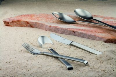 Cutlery Set - 60 Pieces - Contura in 18/10 Stainless Steel satin