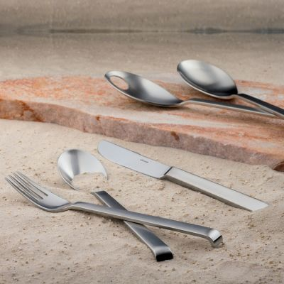 Serving Set - 10 Pieces - Contura in 18/10 Stainless Steel