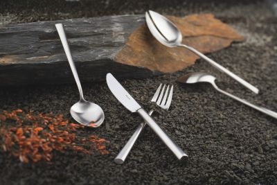 Cutlery Set - 115 Pieces - Palladio in 18/10 Stainless Steel Satinated Surface