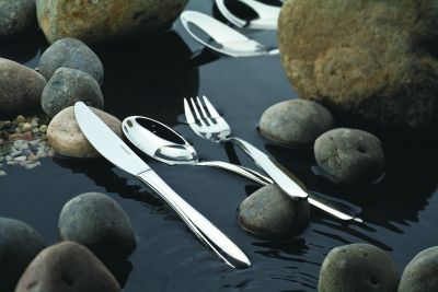 Cutlery Set - 75 Pieces - Rotondo in 18/10 Stainless Steel