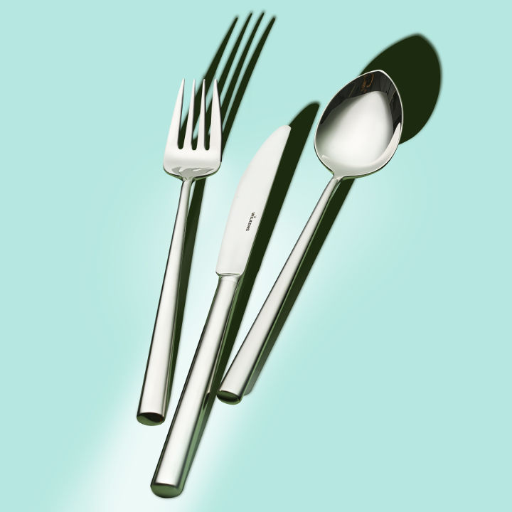 Worldwide unique: Silver-plated cutlery with a WILKENS 180g silver plating.